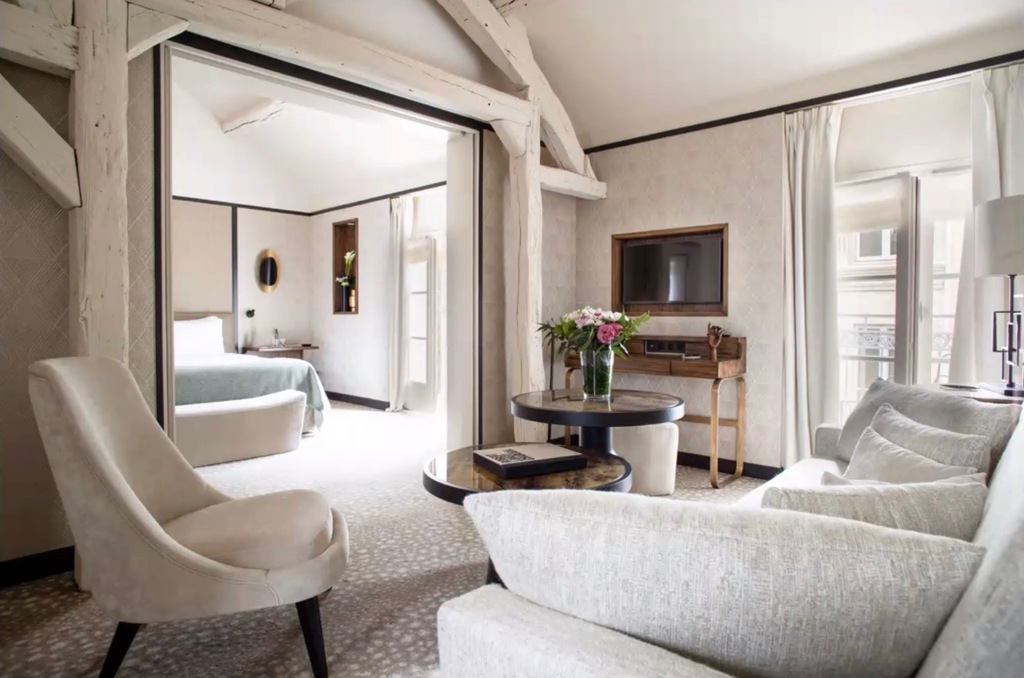 Postcard From: Hotel Esprit Saint Germain, Paris