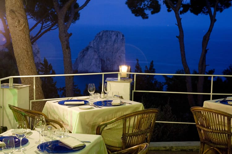 Postcard From: Capri Tiberio Palace, Capri