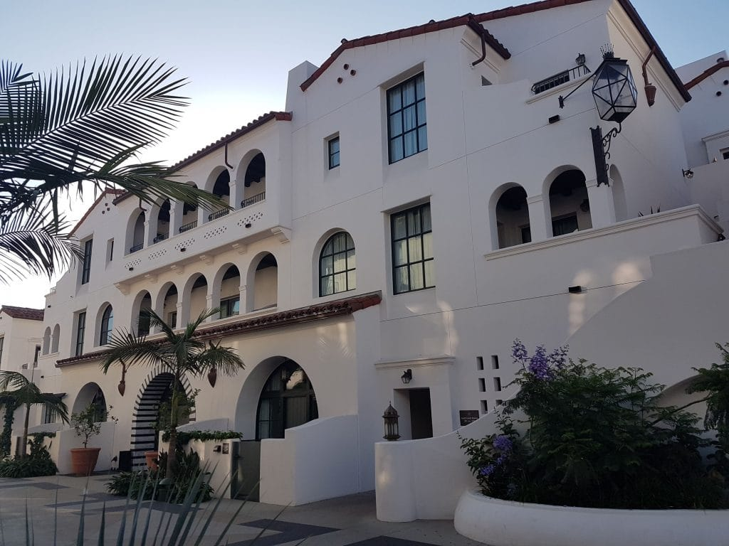 Postcard From: Hotel Californian, Santa Barbara
