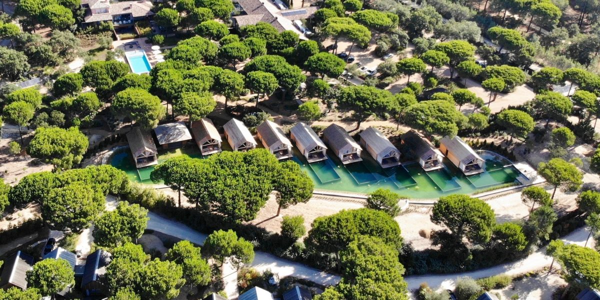 Sublime Comporta aerial view