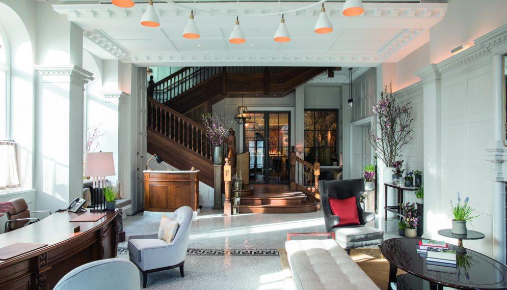 Belmond Cadogan lobby